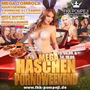 FKK Pompeji Mega Häschen Pornoweekend