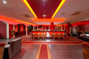 Bar im Saunaclub in Leipzig