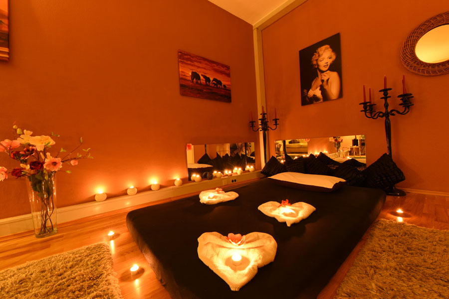 Massageraum Glamour Massage Frankfurt