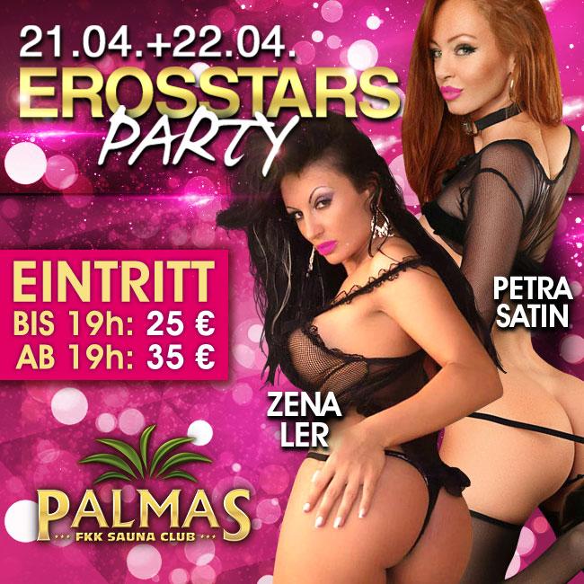 Erosstars Party im FKK Palmas