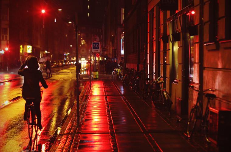 Straße des Rotlichtmilieu