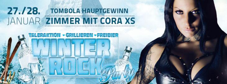 Cora XS im FKK Basel Flyer