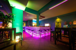 FKK Rom Bar Bereich und Buffet