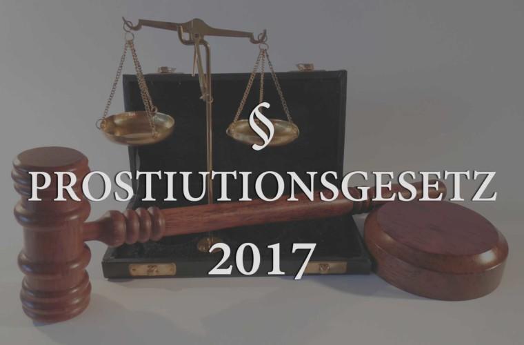 Prostitutionsgesetz 2017