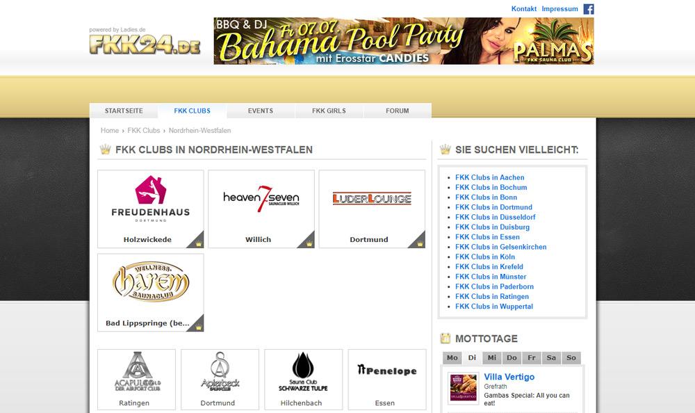 FKK24.de - der Saunaclub Guide