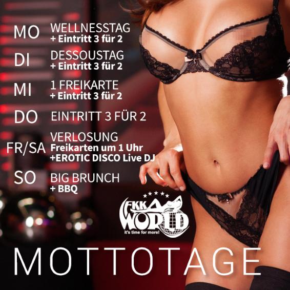 Mottotage FKK World