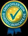 Qualitätssiegel von Bordellberichte.de