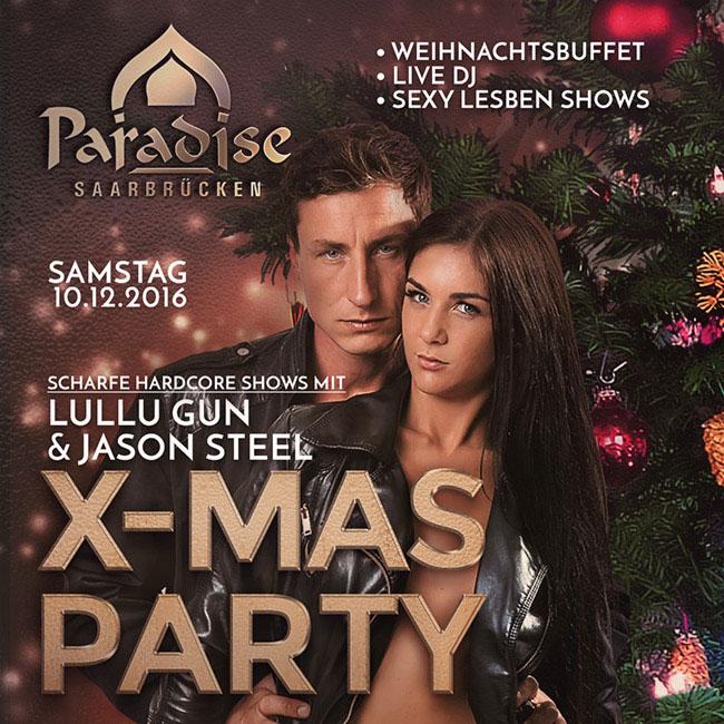 X-Mas Party im Paradise Saarbrücken